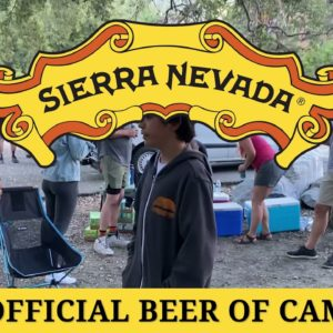 Sierra Nevada and Fly Rides Hit the Trails on Electric Mountain Bikes! Camping with the Crew