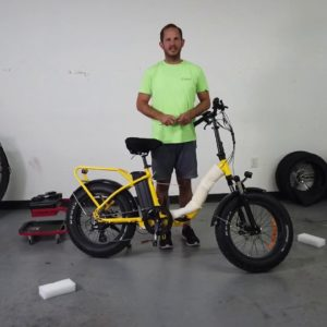 2020 VeeGo Fat Tire Assembly