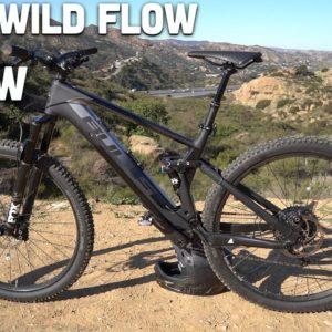 Bulls Wild Flow EVO RS Review -- Fazua Motor Electric Mountain Bike!