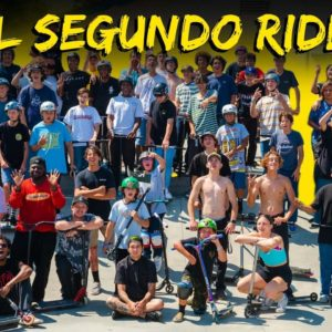 El Segundo Ride Day │ The Vault Pro Scooters