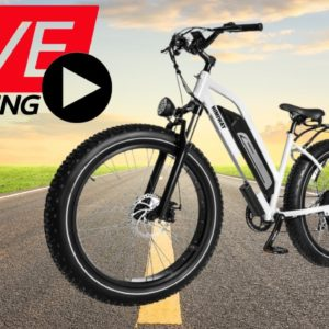 Himiway Step Thru Cruiser LIVE Review by Bolton Ebikes