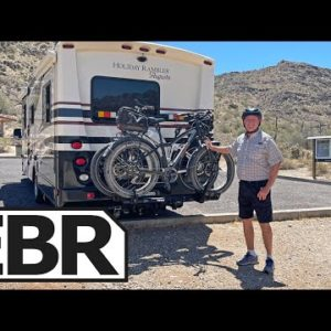 My Dad's Electric Bikes for his RV, Replace a Towed Vehicle