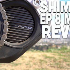 New Shimano Motor! Shimano EP 8 Motor for Electric Bikes -- Review!