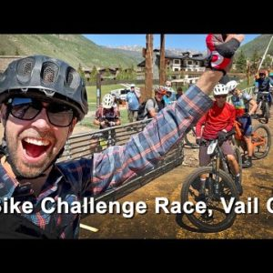 Our First eBike Challenge Race! Vail Colorado Mountain Games