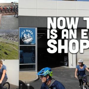 The Future of Electric Bike Shops | Our New Headquarters with Electric Mountain Bike Trails and More