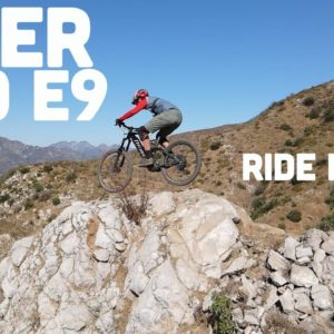 What It's Like to Ride an Electric Mountain Bike: The Niner WFO E9