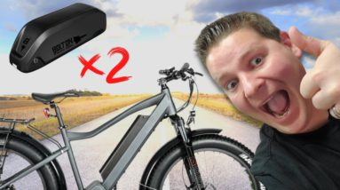 How to add a 2ND BATTERY to your electric bike (Safely)