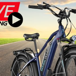 Magicycle Ebike Live Review