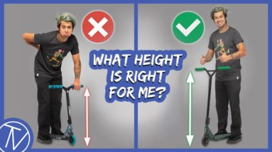 How To Choose The Best Scooter Bar Height │ The Vault Pro Scooters
